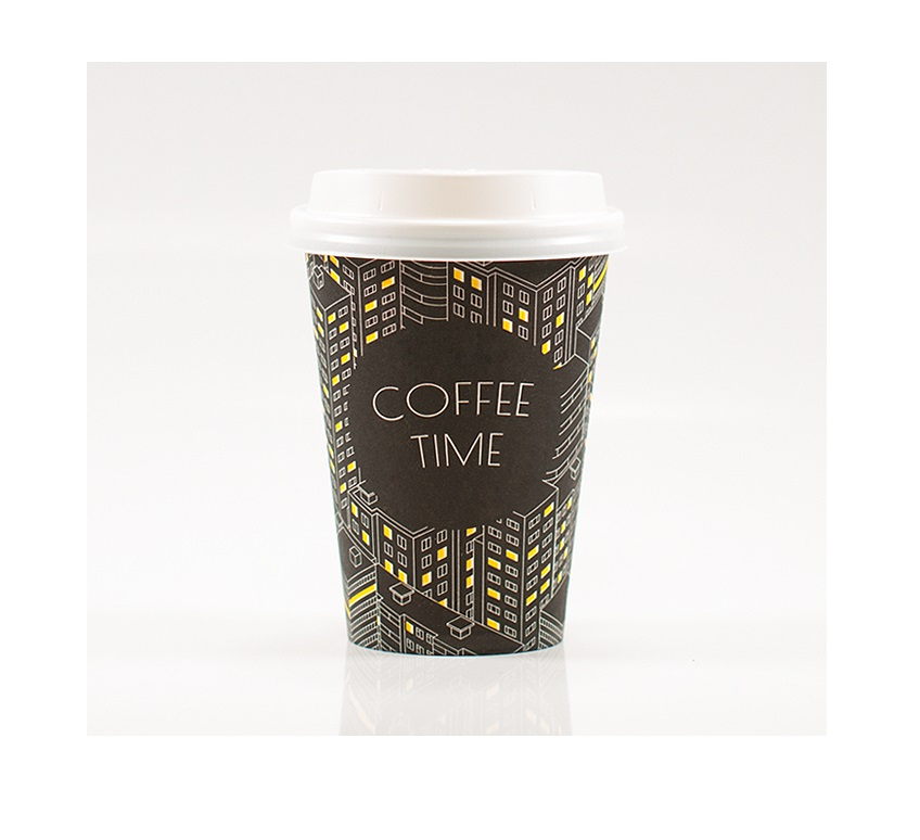 Popierinis puodelis, paper cup, our company design,